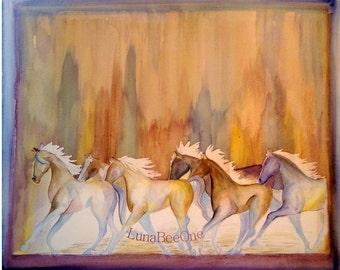 Spirit Ponies Fine Art Print
