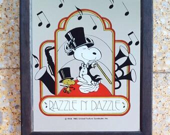 Snoopy Razzle N' Dazzle Mirror