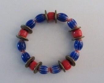 Ghanaian Stretch Beaded Bracelet
