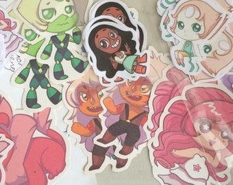 """2.5"""" Steven Universe Stickers (New and Improved!)"""