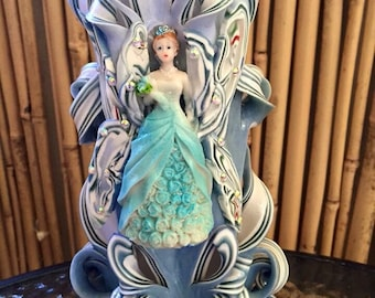 Hand made princess long burning candle