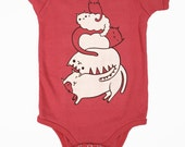 Organic Baby Clothes Organic Baby Shower Gift Cat Baby Clothes Organic Baby Clothing Cat Baby One Piece