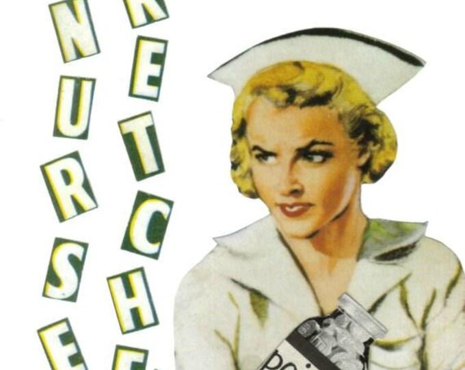 Nurse Wretched, Evil Nurse Art Collage