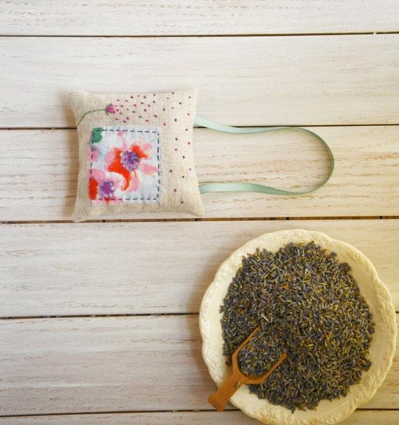 Bohemian Hanging Lavender Sachet - Flower Petals