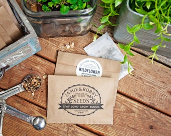 Vintage Seed Packet Favors