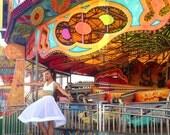 White Skirt, Sheer White Skirt, High Waisted Skirt, Full skirt, Wedding skirt, Chiffon Skirt, Gathered Skirt, Alternative Wedding Dress