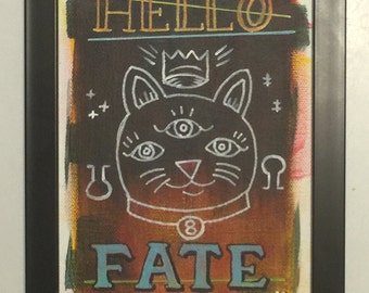 Hello Fate - Original Art by Kevin Kosmicki