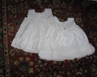 Full Slip and Dress size 18 months Infants full slip and dress child's clothing
