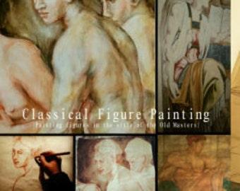 "Online Art Class ""Classical Figure Painting"""