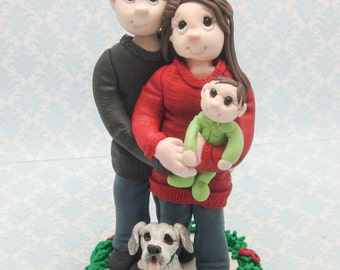 2016 Custom Family Christmas Ornament