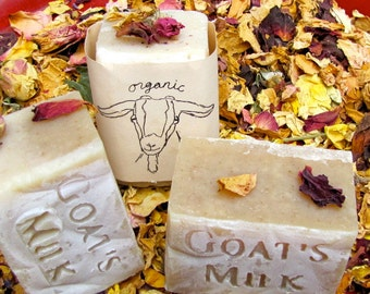 Ginger Rose Organic Goat's Milk Soap