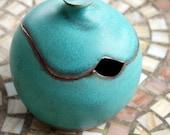 Sugar Bowl / Honey Jar in Turquoise- Made to Order