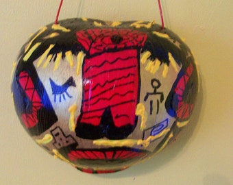 Native Gourd Mask : Silent Sayings