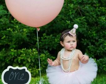 Pink Tutu, 1st Birthday Tutu, First Birthday Tutu, Newborn Tutu, Tutu Skirt, Tulle Skirt, Cake Smash Outfit Tutu, 1st Birthday Outfit, SEWN