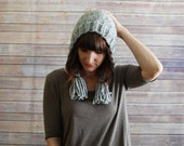 The Nightingale Hood + Knit Hood Hat + Made to Order