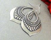 Tribe Gypay Earrings, Earring,Silver earring,Gypsy, Tribal,Tribal Earring, Boho, Gypsy Earring,Boho Earring,Tribal Jewelry, Teardrop