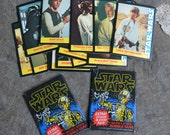 Lot of Vintage 1977 Star Wars Cards, Two Unopened Packages