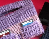 Crochet Pattern PDF -Nintendo DS Lite with Pockets Case for Girls