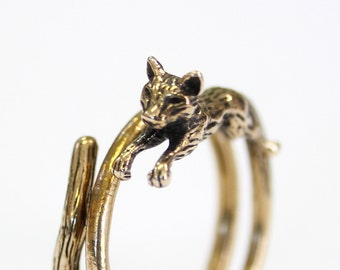 Two for One Sale....Cat Ring 484