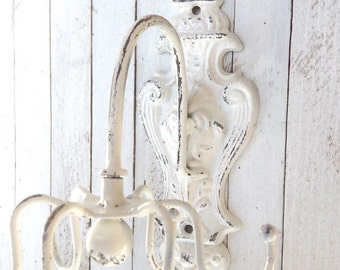 Iron Wall Decor,Swivel Jewelry Holder, Metal Wall Decor, Wall Mount Jewelry Organizer, Jewelry Holder, Gift for Women, Romantic Gifts
