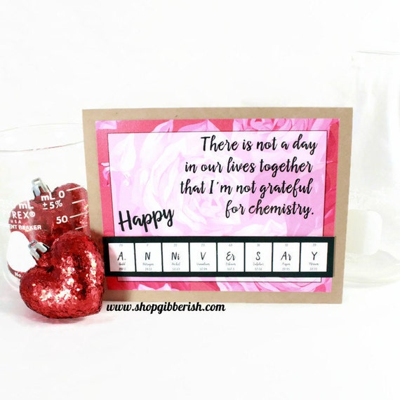 I DO...love geeks - Anniversary Card - Science, Chemistry Gift Idea