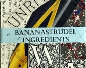 1860s to 1955 BANANASTRUDEL INGREDIENTS - 34-pc. Letters / Calligraphy / Handwriting Pack. Probably the Best Collage/Ephemera Pack