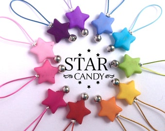 Knitting Stitch Markers snag free - STAR CANDY