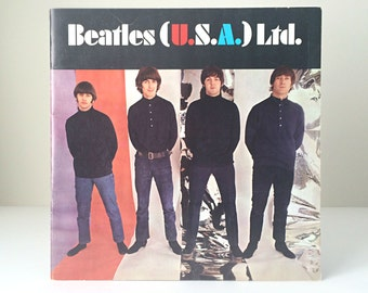 Beatles USA Ltd. 1966 Concert Program Tour Book and Photo Album - Fab Four Vintage Beatles Music Memorabilia