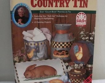 Priscilla's Country Tin Painting Book - Priscilla Hauser