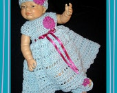baby dress; dress set; crochet baby dress; coming home outfit; newborn girl clothes; crochet baby clothes; infant dress; baby girl outfit;