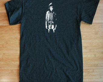 Donnie Darko Countdown Shirt Double-Sided American Apparel