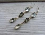 Bling Brass Sass earrings