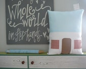 17 Blushing Ave - House Pillow - Nursery - For her - Girls - Decorative Pillow - SALE