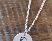 Private Listing for Brinda, Initial Necklace, Personalized Mothers Day Gift Mommy Jewelry 925 Sterling Silver Jewelry