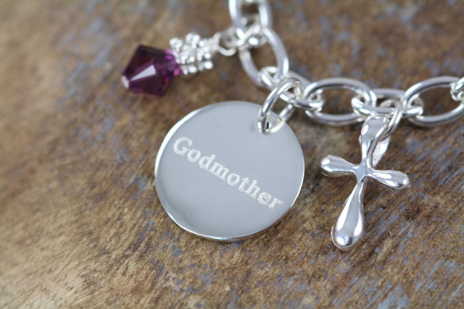 Godmother Gift Godparent Gift Personalized Gift For: Baptism Gift For Godmother Engraved By ShinyLittleBlessings