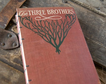 1909 THE THREE BROTHERS Vintage Notebook