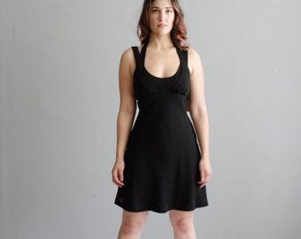 Vintage Nicole Miller Dress - 1990s Little Black Dress - Modern Times Dress