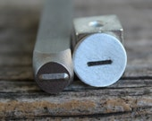 Straight Line-Metal Stamp-5mm Size-Steel Stamp-New Metal Design Stamps-by Metal Supply Chick