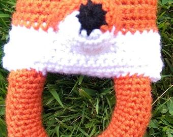 Crochet Fox Baby Toy
