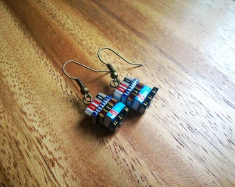 Stack of Books Earrings, Lawyer's Earrings (Made to Order) - Book Jewelry by Coryographies
