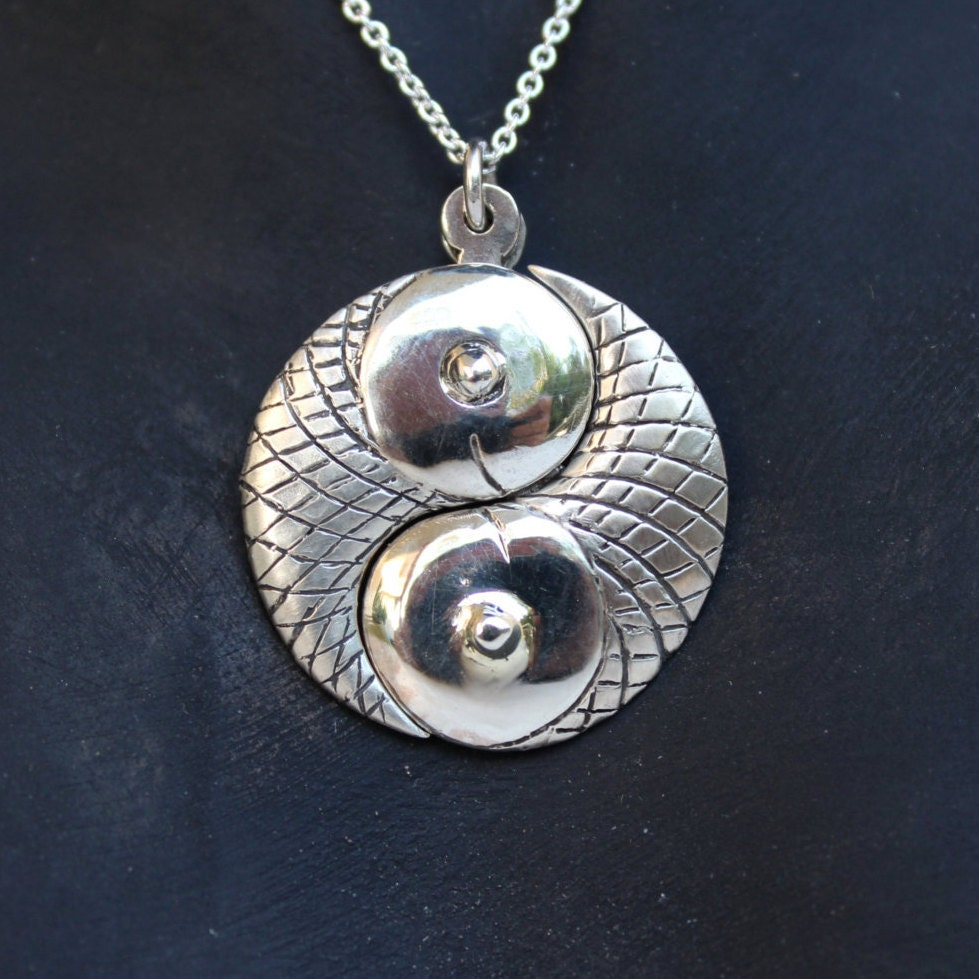 Black friday sale pisces zodiac jewelry yin yang two pieces black friday sale pisces zodiac jewelry yin yang two pieces necklace pendant sterling silver hand carved yin yang sign unisex best gift idea sciox Gallery