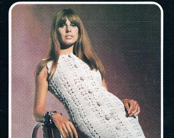 Vintage 1970's Villawool Knit & Crochet Patterns
