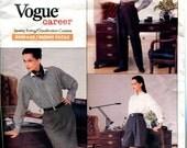 Vogue 2135 Ralph Lauren Skirt Pants Shorts Career W26 W28 W30