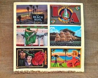 The Beach Boys - L. A. (Light Night) - 1989 Vintage Vinyl Record Album