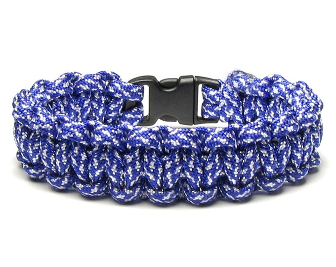 Paracord Bracelet Clouds Blue Sky White Survival Accessory Outdoor Sports 550 Parachute Cord Military Veteran Air Force Army Gift Men Women
