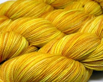 Twinkle Sock - Brite Yellow