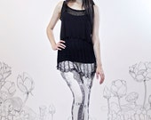 Pearl Guitar Legging by Carousel Ink - IVORY