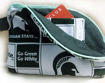 Michigan State Large Cell Phone Wallet