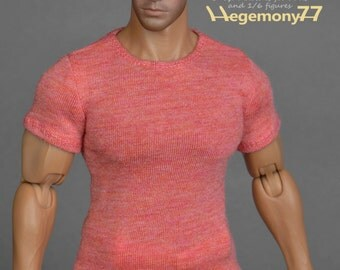 1/6th scale T-shirt for: Hot Toys TTM 20 size XXL male figures and dolls