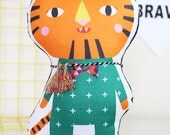 Tiger Softie, plush, soft toy